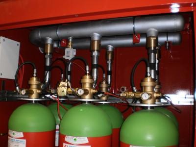 Газовое пожаротушение CO2